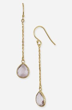 With the bangles? Argento Vivo 'Bauble Bar' Linear Earrings (Nordstrom Exclusive) available at Purple Jewelry, Precious Metals, Women's Earrings, Nice Dresses, Bangles, Nordstrom, Bling, Fancy, Pendant Necklace