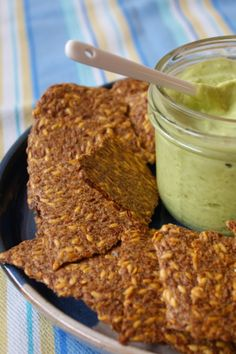 Food and Yoga for Life: Raw Salty Spicy Crackers