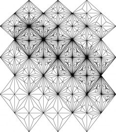 Free Line Drawing Patterns | FRP rainscreen panel division and manipulation in 3D, from Grasshopper ...
