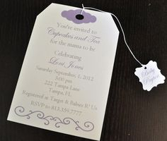 Tea Party invitation Tea Party birthday party baby by Robin519, $35.00