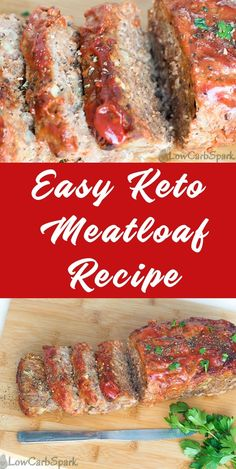 How to make a low carb keto meatloaf recipe? Learn how to make an extra low carb… How to make a low carb keto meatloaf recipe? Learn how to make an extra low carb meatloaf that everyone will love. Keto Foods, Healthy Diet Recipes, Ketogenic Recipes, Beef Recipes, Ketogenic Diet, Keto Meal, Healthy Meatloaf Recipes, Easy Low Carb Recipes, Chicken Recipes