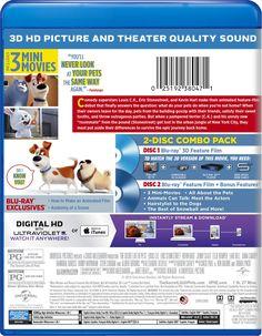 The Secret Life of Pets (Blu-ray 3D + Blu-ray + Digital HD)