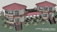 exnihilo retreat - an artist retreat on Long Island, The Bahamas Residency Programs, Gazebo, Outdoor Structures, Studio, Outdoor Decor, Artist, Home Decor, Kiosk, Decoration Home