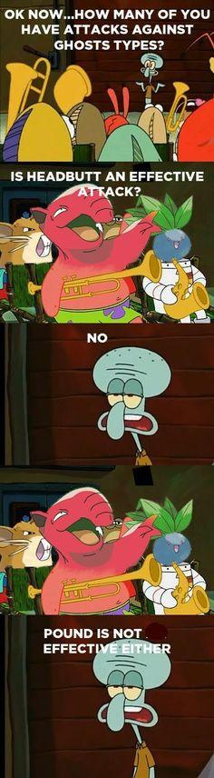 This is wonderful. Pokemon and Spongebob funny.