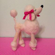 Felted Snooty Poodle - Needle Felting