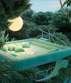 Dream Home Design, My Dream Home, Exterior Design, Interior And Exterior, Mexican Hacienda, Retro Interior Design, Aesthetic Rooms, Aesthetic Green, Dream Rooms