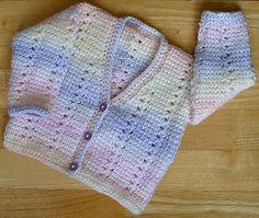BABIES-CHILDRENS CARDIGAN TUNISIAN CROCHET PATTERN NO.215 DESIGNED BY KAY JONES in Crafts, Needlecrafts & Yarn, Crocheting & Knitting | eBay!