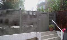 Avenue and trellis gate Wooden Side Gates, Wooden Garden Gate, Trellis Gate, Garden Trellis, Garden Structures, Outdoor Structures, Wooden Gate Designs, Fence Doors, Garden Design