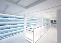Vitamin drinks shop designed for Amsterdam's Red Light District.