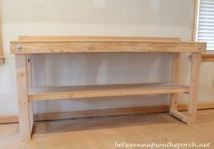 A Workbench for the Basement