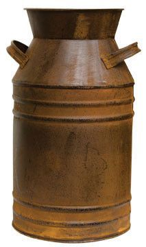 Rusty Milk Can, 13 inches