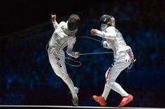 London 2012 Fencing - Women's Individual Foil Bronze NAM Hyun Hee VS VEZZALI Valentina