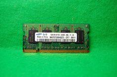 Notebook RAM 1GB 200p PC2-6400 CL6 DDR2-800MHz Samsung M470T2864QZ3-CF7 SODIMM