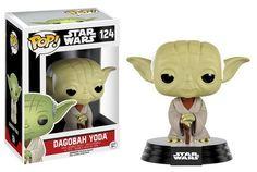 FIGURA POP STAR WARS: DAGOBAH YODA Star Wars Cabezón POP! Vinyl´, tamaño aprox. 8 cm.Fabricante: FUNKO