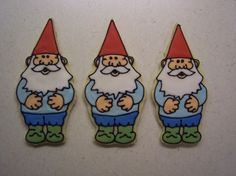 Gnome cookies - love these gnomes! I have their book