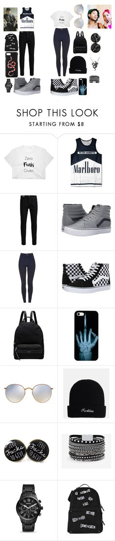 """""""bill net"""" by indiaquick923 ❤ liked on Polyvore featuring Jack & Jones, Vans, Radley, Ray-Ban, White House Black Market, FOSSIL, Valentino and Gucci"""