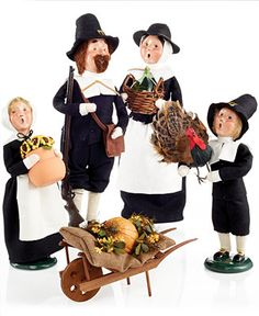 Byers' Choice Thanksgiving Collection - Thanksgiving - For The Home - Macy's