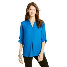 Convertible Sleeve Blouse - Mossimo
