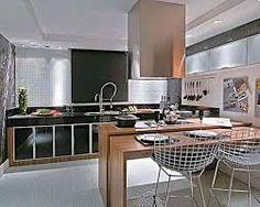 cozinhas pequenas modernas - MESA