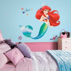 Product Image for Disney® The Little Mermaid Giant Peel and Stick Wall Decals 1 out of 3