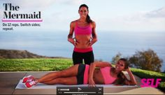 tone it up's first drop 10 workout video for SELF! lots of good full body moves (like the side slimmer) via tone it up!