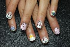 Easter Bunny Chick Nails by leximartone - Nail Art Gallery nailartgallery.nailsmag.com by Nails Magazine www.nailsmag.com #nailart