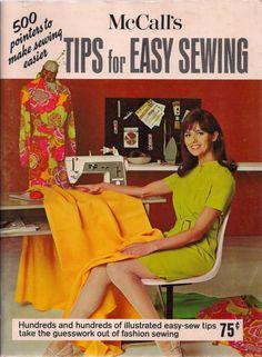 McCalls Tips for Easy Sewing : : Sadie Fox Studio