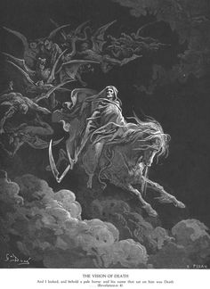 Death on a Pale Horse, Gustave Doré, engraving