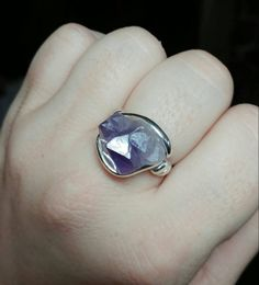 New in our shop! Raw Amethyst Ring | Raw Crystal Ring | Sterling Silver Ring Sz 9 | Raw Crystal Rings | Raw Ston... https://www.etsy.com/listing/483731664/raw-amethyst-ring-raw-crystal-ring?utm_campaign=crowdfire&utm_content=crowdfire&utm_medium=social&utm_source=pinterest