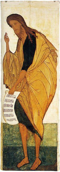Успенский собор, Владимир. Деисусный чин (Васильевский чин) Иоанн Предтеча