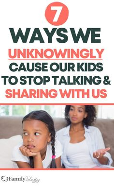 7 Mistakes That Can Cause Our Kids to Stop Sharing with Us Every parent's worst nightmare is when their growing kid reaches puberty and no longer talks to them! But there are sneaky things we often do that contribute to this problem and how to avoid them! Parenting Teens, Kids And Parenting, Parenting Hacks, Parenting Classes, Natural Parenting, Single Parenting, Parenting Quotes, Education Quotes, Mentally Strong