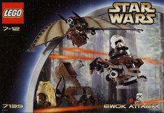 Construction Toy by LEGO 7139 Ewok Attack Pga katapult