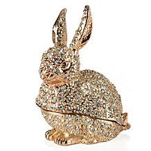 Add our stunning Bunny Trinket Box to your collection of treasured miniatures.  #easter