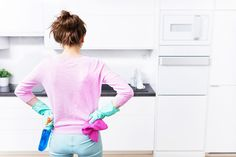 We've got a few nifty DIY tricks to make cleaning your home easier, without brea. We've got a few nifty DIY tricks to make cleaning your home easier, without breaking the bank. Weekly Cleaning, Deep Cleaning, Spring Cleaning, Bathroom Cleaning Hacks, House Cleaning Tips, Cleaning Diy, Cleaning Cabinets, Cleaning Gloves, Kitchen Cleaning