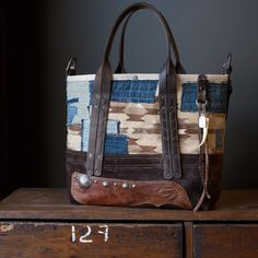 Navajo tote by J. Augur Design, 2015.