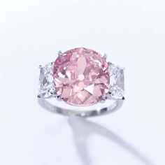 """Hidden away in a bank vault for seven decades, """"The Historic Pink Diamond"""""""