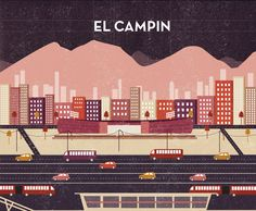 El Campín by Michelle Mildenberg, via Behance