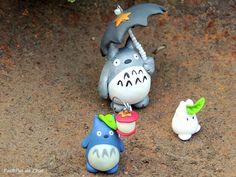 Un Totoro à petit pas