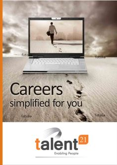 Poster designed for Talent21, HR company based out of Hyderabad