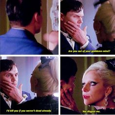 American Horror Story Hotel - Mr March and The Countess. Season 5 Episode 9