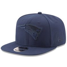 Men s New England Patriots New Era Navy Metallic Mark Original Fit 9FIFTY  Snapback Adjustable Hat 1e176e4db44