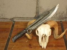 """foam made """"Degenesis"""" end time combat knife -  aus Schaum gefertigtes """"Degenesis"""" Endzeit Kampfmesser"""