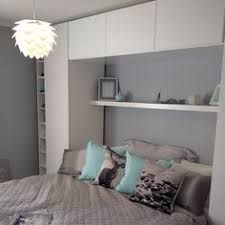 Trendy Bedroom Wall Decor Above Bed Diy Small Spaces Cozy Small Bedrooms, Small Master Bedroom, Shared Bedrooms, Trendy Bedroom, Guest Bedrooms, Luxurious Bedrooms, Modern Bedroom, Ikea Small Bedroom, Bed Ikea