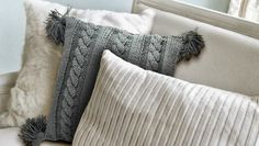 Handmade NL: Een mooi woonkussen breien, gratis patroon