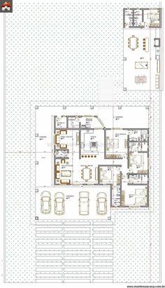 Casa térrea com 4 quartos e edícula