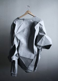 New Ideas Origami Design Architecture Wearable Art Paper Fashion, Origami Fashion, Fashion Art, High Fashion, Womens Fashion, Fashion Design, Fashion Textiles, Fashion Outfits, Fashion Details