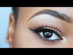 How To: Apply False Lashes (Naturally Curly Lashes) | B2B Ep. 3 ♥ - YouTube