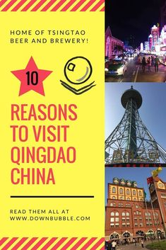Qingdao doesn't always make it to everyone's itinerary when they visit China but it should! Home of Tsingtao beer and brewery and a whole street dedicated to drinking beer, that's 3 reasons but there's still 7 more to come including beaches, views, wedding photography and bang for your buck! Read them all at www.downbubble.com/qingdao-china