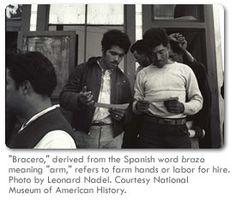 Bittersweet Harvest: The Bracero Program, 1942-1964, GLAD unit idea (Immigration)