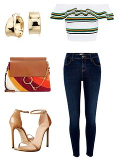 """Untitled #194"" by margaritavzlal on Polyvore featuring MSGM, Chloé, River Island, Stuart Weitzman and Blue Nile"